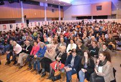 La salle polyvalente était pleine à craquer au Festimontois.