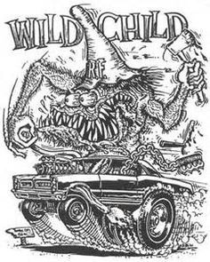 9 Best Ed Big Daddy Roth Coloring Pages Images Big Daddy Coloring