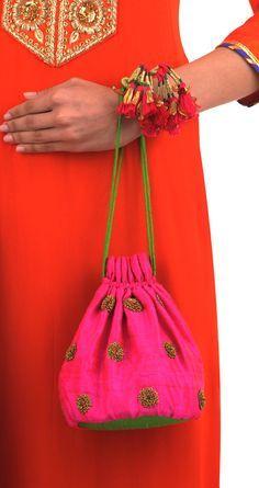 Tisha Saksena presents Floral zardozi potli available only at Pernia's Pop-Up Shop.Floral Zardozi Potli Want it, get it Whatsapp : 7989987455 60 Year Old Woman, Diy Sac, Potli Bags, Ethnic Bag, Best Walking Shoes, Fabric Bags, Handmade Bags, Old Women, Bucket Bag