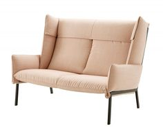 The Beau Fixe by Inga Sempé for Ligne Roset is a small two seater sofa made for city living - Perscentrum Wonen
