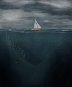 """Creature from the deep"" Jimmy Dahlin"