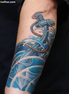 Related Topics→ Anchor Tattoos  Blue Ink Tattoos  Tattoo