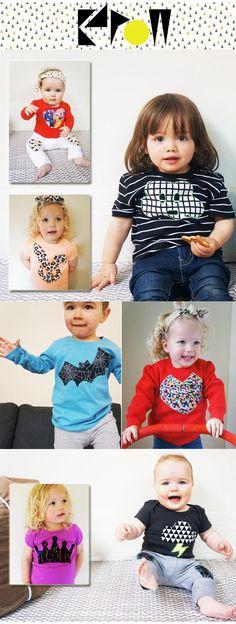 Kapow Kids : A Cool New Australian Baby and Kids Fashion Label