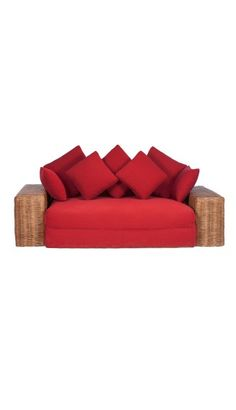 Rattan Couch Indoor Rattan Furniture, Sofa, Couch, Living Room, Home Decor, Homemade Home Decor, Sofas, Sitting Rooms, Interior Design