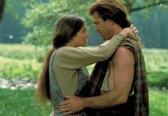 Braveheart's William and Maren. Shortest romance ever. Also one of the sweetest.