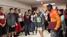 BEST PROM PROPOSAL EVER! 2014 (Whitehall High School)