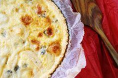 jugando en mi cocina: Quiche de pera y queso
