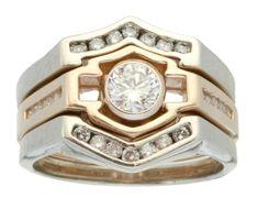 Harley-Davidson® Men's Wedding Ring WRW473D