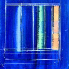 Steven Heffer , untitled - blue oil on canvas on ArtStack #steven-heffer #art