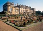 Harewood House and gardens, just outside Leeds
