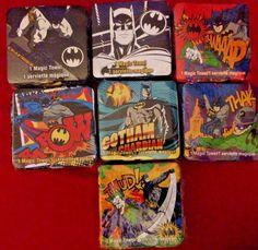Batman The Dark Night 11X11 Magic Towel Warner Brothers WB DC  #PeachtreePlaythings