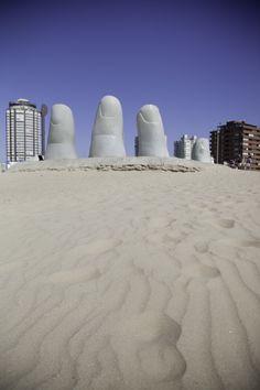 This landmark in Punta Del Este is a must-see!