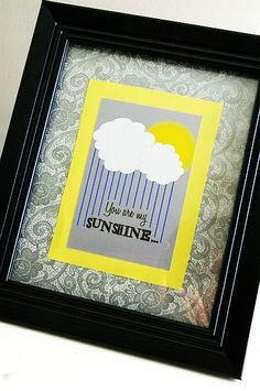 Brassy Apple: Printable - You are my sunshine