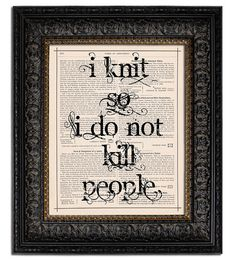 Love this #knitting poster!