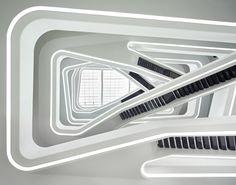 Dominion Office Building, Courtesy of Zaha Hadid Architects - Photography: Hufton+Crow
