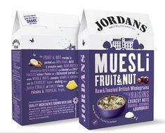 Jordans Cereal Packaging