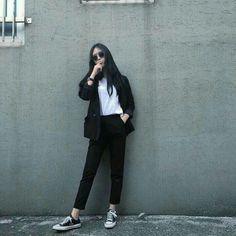 Fashion Tips And Tricks .Fashion Tips And Tricks Korean Girl Fashion, Korean Fashion Trends, Ulzzang Fashion, Korean Street Fashion, Tomboy Fashion, Fashion Outfits, 80s Fashion, Fashion 2020, Fashion Ideas