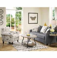 Birdsong Sofa Fabric Furniture Sets Living Rooms Art Van Furniture Mi