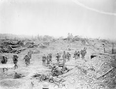 Village of Wytschaete captured on 7 June 1917 by the 16th (Irish) Division and 36th (Ulster) Division.
