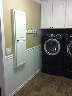 Laundry Room Ironing Board Design, Pictures, Remodel, Decor and Ideas - page 2