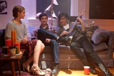 Logan Lerman, Emma Watson and Ezra Miller in The Perks of Being a Wallflower x2