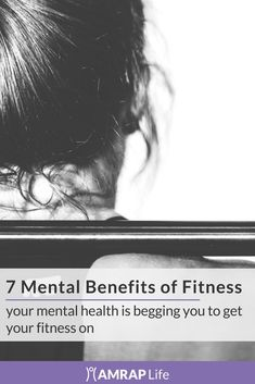 Here's why your mental health is begging you to get your fitness on. #fitness #mentalhealth #exercise #crossfit #AMRAPLife