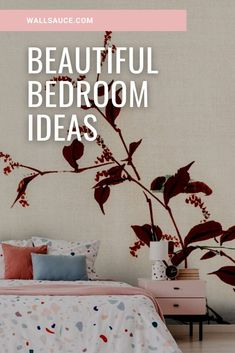 Update your bedroom with one of our bedroom murals. Specially chosen to help you create a calm and relaxing space, this range of murals will help you get the bedroom you've always wanted. Simply select your perfect bedroom mural, input your wall dimensions and select your wallpaper from a quality choice.  We have classic or premium paste the wall or textured peel and stick.  Click to see our large collection of wall murals at wallsauce.com! #wallmural #homedecor