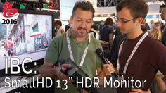 SmallHD have released a smaller 13 inch addition to their line of fantastic HDR production monitors. This video was filmed using: Main Camera - Sony A7rII ht...