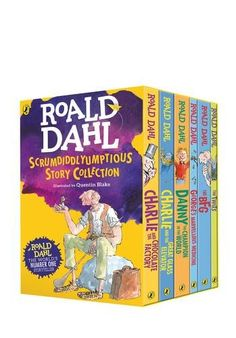 Six Roald Dahl favourites come together in this very special box set: Charlie and the Chocolate Factory, Charlie and the Great Glass Elevator, Danny the Champion of the World, George's Marvellous Medicine, The BFG and The Twits. Complete with fun and fascinating extra material offering a sneak peek into the wonderful world of Dahl, this is a collection to treasure forever.Item comes in set of 6 books.