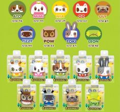 ACADEMY-CANIMALS-COLLECTION-FIGURES-2-3in-ATO-MIMI-OZ-POW-pick-your-one