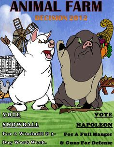 the relationship of snowball and napoleon in animal farm by george orwell And takes an extract from animal farm by george orwell,  animal farm - extract 1 this  the divergence in views between snowball and napoleon becomes apparent.