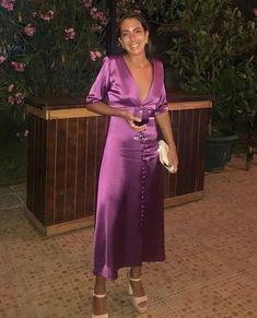 Deep V Neck Long Prom Dress – Simplepromdress Evening Dresses, Prom Dresses, Dresses For Work, Look Fashion, Fashion Outfits, Dress Fashion, Beautiful Maxi Dresses, Dress Codes, The Dress