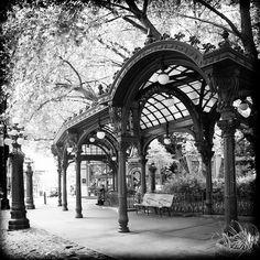 Pioneer Square Pergola Photograph  - Pioneer Square Pergola Fine Art Print