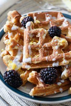 LEMON VANILLA WAFFLE FRENCH TOASTReally nice recipes. Every  Mein Blog: Alles rund um die Themen Genuss & Geschmack  Kochen Backen Braten Vorspeisen Hauptgerichte und Desserts