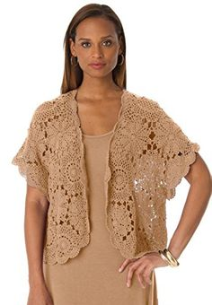 Jessica London Women's Plus Size Shrug Cardigan In Crochet Camel,26/28 by Jessica London Take for me to see Jessica London Women's Plus Size Shrug Cardigan In Crochet Camel,26/28 Review You'll be able to purchase any products and Jessica London Women's Plus Size Shrug Cardigan In Crochet Camel,26/28 at the Best Price Online with Secure Transaction …