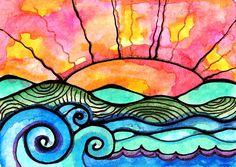 Lands End Painting  - Lands End Fine Art Print
