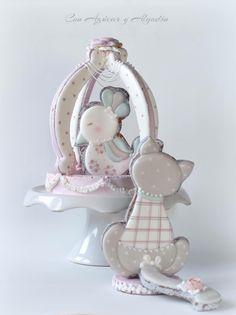 Decorated Cookies!!! Galletas decoradas... Un lindo gatito!!!