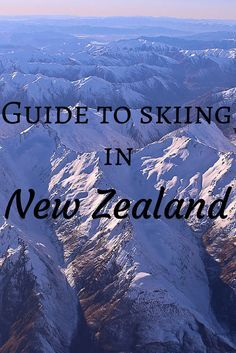 Winter is here: a guide to skiing in New Zealand Winter is here, so clip on your skis or snowboard and get going down the mountain! Check out this guide to skiing in New Zealand's North and South Islands - ski fields, costs, places to stay and more! New Zealand Snow, New Zealand Winter, New Zealand Holidays, New Zealand North, New Zealand South Island, New Zealand Travel, Ski Weekends, Best Skis, Ski Vacation