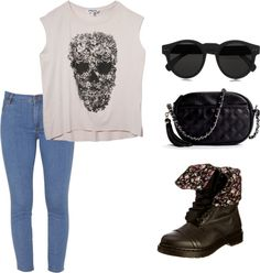 Lou Teasdale inspired outfit.