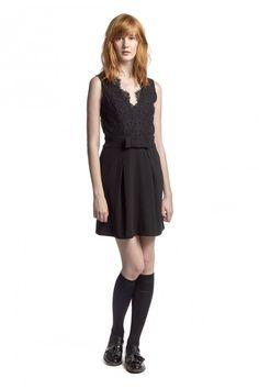 ROMY NOIR dress - by Claudie Pierlot