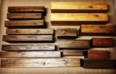 This listing is for one shelf. Each shelf is handmade to order. Our shelves are sanded, stained and sealed to protect the wood. If you do not…