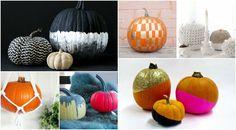 Halloween Decoration Crafts – pumpkins decorate attractive