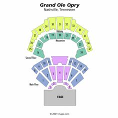 19 Fresh Grand Ole Opry Seating Layout