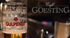 Cafe Goesting | For a drink & fun.