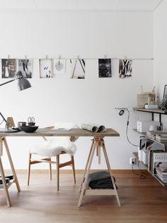 9 inspirerande idéer för arbetshörnan och hemmakontoret | ELLE Decoration