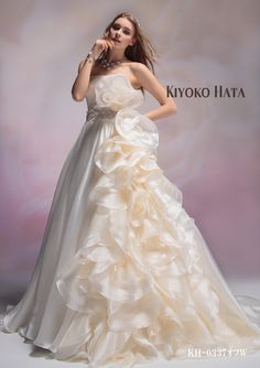 KIYOKO HATA 立体お花モチーフ | Mode Marie(モード・マリエ)