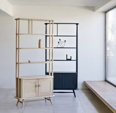 Contemporary interpretations of the Originals Room Divider by Ercol will also be presented at Milan design week