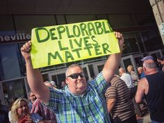 "Frank Thorp V on Twitter: ""Outside Donald Trump's rally in Asheville, NC: A…"