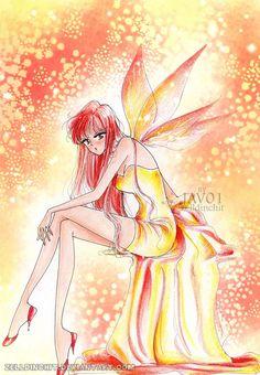 Rey Hino - fire butterfly by zelldinchit.deviantart.com on @DeviantArt