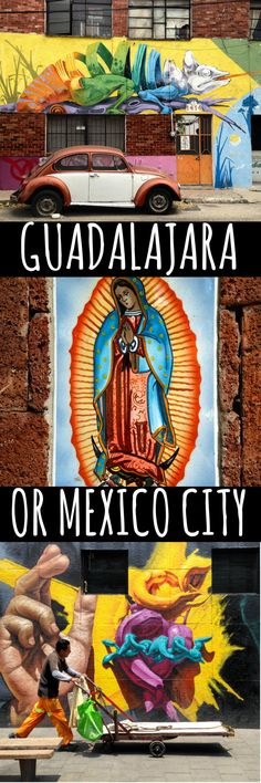 Which city in Mexico is the best? Here I give an insider guide to Mexico's two largest and most culturally vibrant cities - Guadalajara and Mexico City, so you can decide where to take your next Mexican city break.